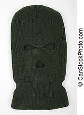The balaclava mask - Green balaclava mask
