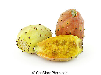 Chumbos figs - Chumbos fruit of the fig Chumbera