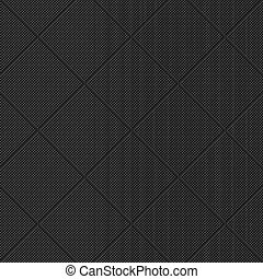 Black diagonal textured pattern. Vector background