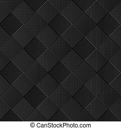 Black diagonal wicker pattern
