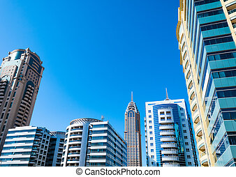 Modern buildings, Dubai, United Arab Emirates