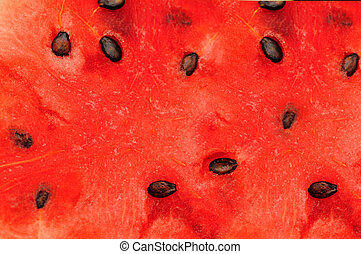 Water melon - close up picture of Water melon back ground