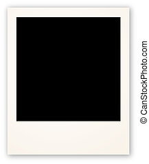 Polaroid frame for your object - Vtctor illustration...