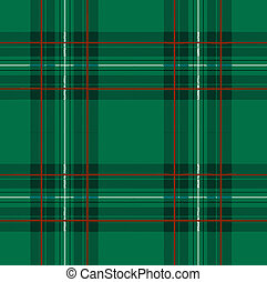 Tartan, plaid pattern. Seamless vector. - Tartan, plaid...