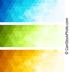 Abstract technology background in color Vector illustration...