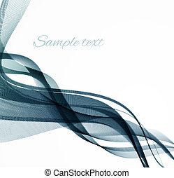 Abstract color smoke vector background