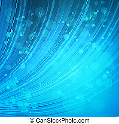 Brightly blue curtain background