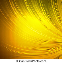Brightly gold curtain background