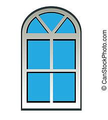 Fenster schließen clipart  Vektoren Illustration von tür, fenster, schwarz, abbildung ...