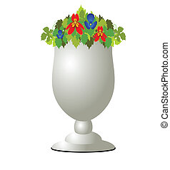 flowerpot illustration