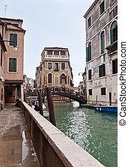 Castello canal view in Venice