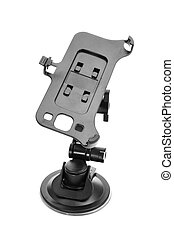 smartphone holder on a white background