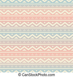 Seamless Ethnic Background - Seamless pattern with ethnic...