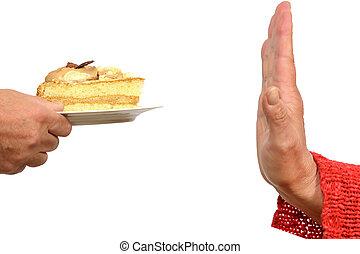 Refrán, no, pastel