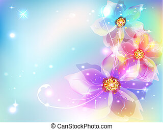 beautiful abstract background with