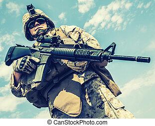 US marine