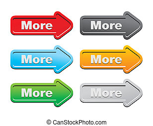 more - arrow buttons - suitable for user interface