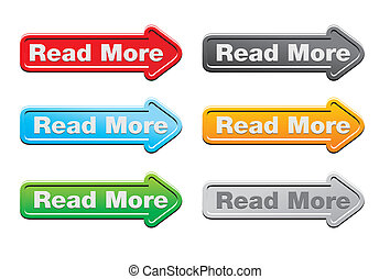 read more - arrow buttons - suitable for user interface