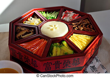 Korean food - In particular dish, traditionally prepared...