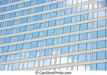 Building windows reflection