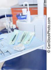 Dental tool close up