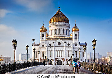 Christ the Savior Cathedral in Moscow - Christ the Savior...