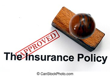 Insurance form - approved