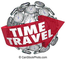 Time Travel Clock Sphere Future Science Fiction Prediction