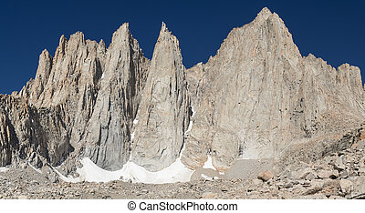 Mount Whitney the highest peak in the contiguous 48 states