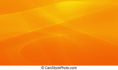 Abstract orange swirls in motion
