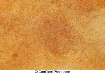 Stained Concrete Floor - orange red stained concrete floor...