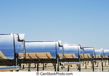Solar Thermal Electric Plant - solar thermal electric...
