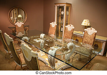 luxurious dining room 2