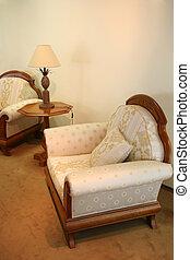 fácil, sillas
