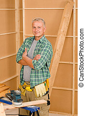 Handyman mature professional diy home improvement - Handyman...