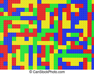texture lego - High resolution image lego. 3d illustration....