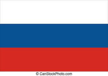 ロシア人, 旗