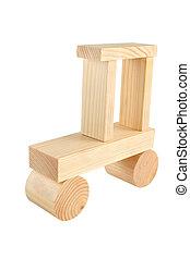 wood car toy