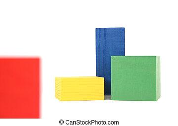 wood toy blocks