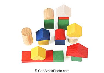 wood toy city