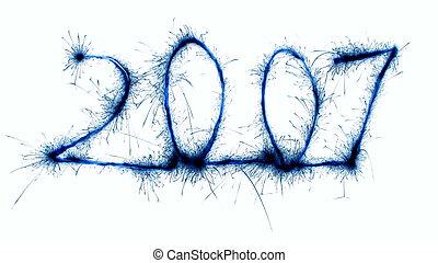 2007 blue sparkler