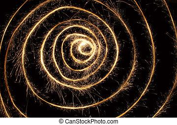 sparkler spiral 2