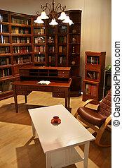 hogar, biblioteca