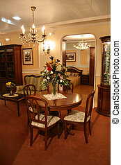 classic drawing room and bedroom