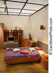 bedroom and roof