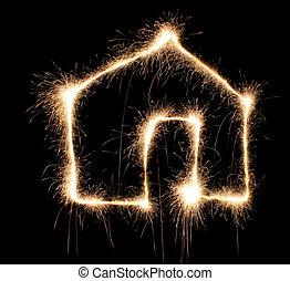 sparkler house
