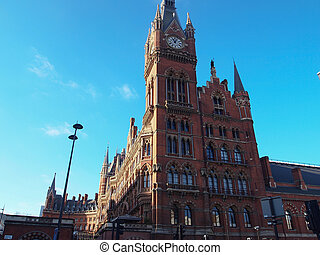 St Pancras Renaissance Hotel,London - London, UK - January...