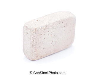 eraser on a white background