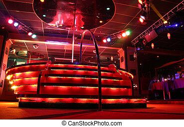 night club podium