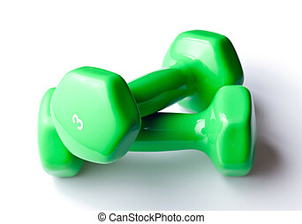 Free Weights with natural drop shadow - Free weight...